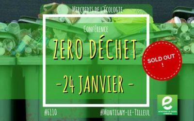 Mercredis de l'écologie – Conférence Zéro Déchet