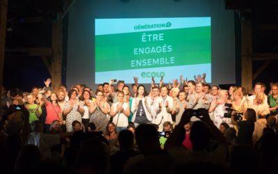 """Meeting élections 2018 // Lancement de campagne : """"Le vert vous va si bien !"""""""